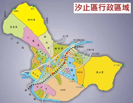 Xizhi map